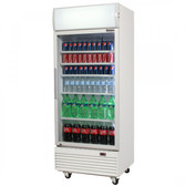 Bromic - Glass Door Chiller 660L w/Lightbox - LED Lighting - GM0660L LED ECO