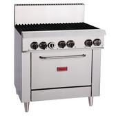 Thor 6 Burner LPG Oven