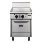 Thor 24in Freestanding Oven Range With Griddle Natural Gas
