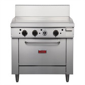 Thor 36in Freestanding Oven Range With Griddle LPG