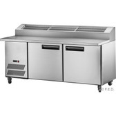PPB/18 two large door DELUXE Pizza Prep Bench