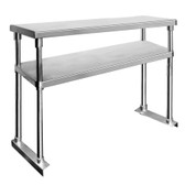 1800-WBO2 Double Tier Workbench Overshelf