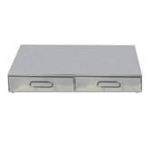 CA0700C2 Bezzera Double Drawer Knock Box