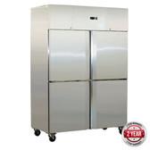 SN1000BTM GRAND ULTRA Split S/S 4 Door Upright Freezer 1000L