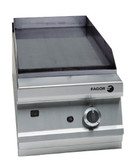 Fagor 900 Series Natural Gas Mild Steel 1 Zone Fry Top FTG9-05L