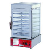 Heavy Duty Electric Steamer Display Cabinet 1.2kw - MME-600H-S