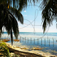 Caye Caulker View of Sea