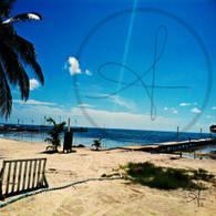 Caye Caulker Beautiful Beach View
