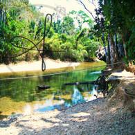 Caves Branch Tubing River Cross
