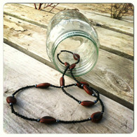 Guanacaste Seed Necklace