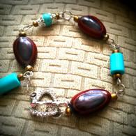 Guanacaste Seed Drop Bracelet