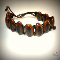 Guanacaste Seed String Bracelet Black