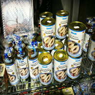 Canned Bratwurst in Munich Airport