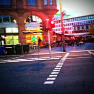 Frankfurt Street by Subway