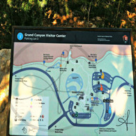 Grand Canyon South Rim Map