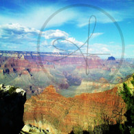 First View of Grand Canyon