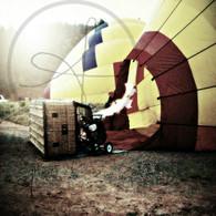 Firing Up Balloon Faded
