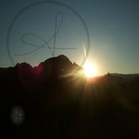 Sedona Sunrise from Balloon