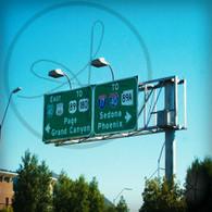 Flagstaff Highway Road Signs