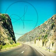 AZ HWY 89 Mountain Pass Curve