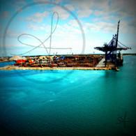 Freeport Shipping Yard View