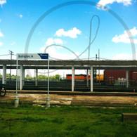 Burlington Amtrak Train Yard