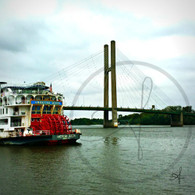 Paddlewheel and Bridge