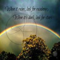 Rainbows and Stars 11x14