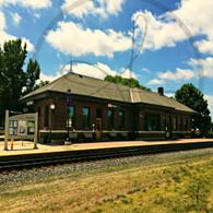 Macomb Station and Tracks