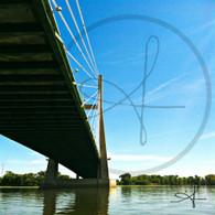 Going Under Great River Bridge