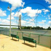 Burlington Bridge and Benches