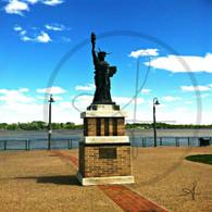 Burlington Mini Statue of Liberty
