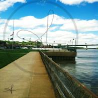 Port of Burlington Sidewalk View