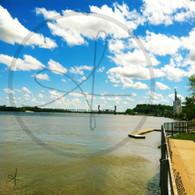 Rail Road Bridge from Riverfront