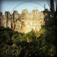 Uzhhorod Castle Outer Wall