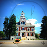 Courthouse and Street