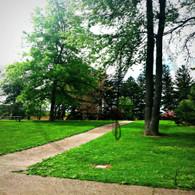 Crapo Park Sidewalk Path