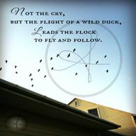 Flight of the Duck 8x10