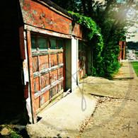 North Hill  Old Red Garage