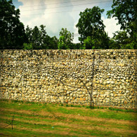 Belize Stone Wall