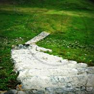 Altun Ha Stone Stairs