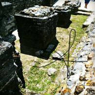 Altun Ha Stone Pillar Ruins