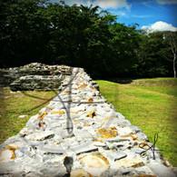 Altun Ha Stone Wall