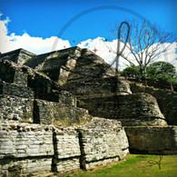 Altun Ha Side of Ruins