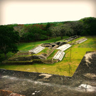 Altun Ha View from Top of Ruins