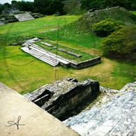 Altun Ha Side Ruins View