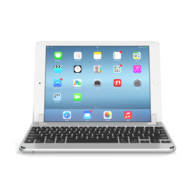 Brydge Air Bluetooth wireless keyboard - Silver Designed for iPad Air and iPad Air 2