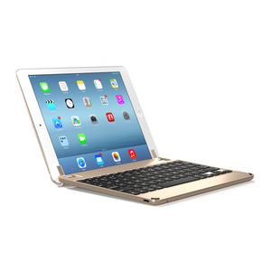 Brydge Air Bluetooth wireless keyboard - Gold Designed for iPad Air and iPad Air 2