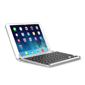 BrydgeMini II - Aluminium Bluetooth Keyboard for iPad Mini 4 - Silver