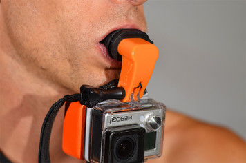 MyGo Mouth Mount - POV came mount designed for GoPro